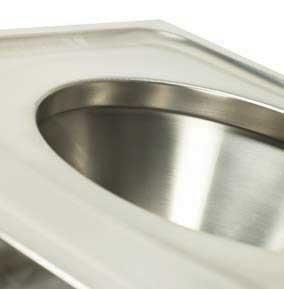 Sink detail - Sluice - WJ Kenyon Autopsy Mortuary Equipment