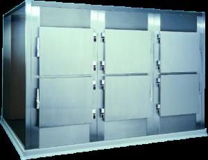6 Body Cold Chamber Mortuary equipment, Autopsy, Post Mortem, Funeral Equipment WJ Kenyon