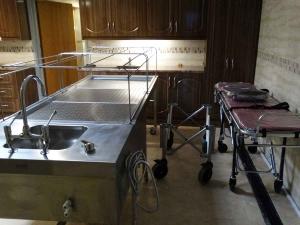 Islamic Washing Room, Ghusl Table, Muslim Mortuary Equipment WJ Kenyon