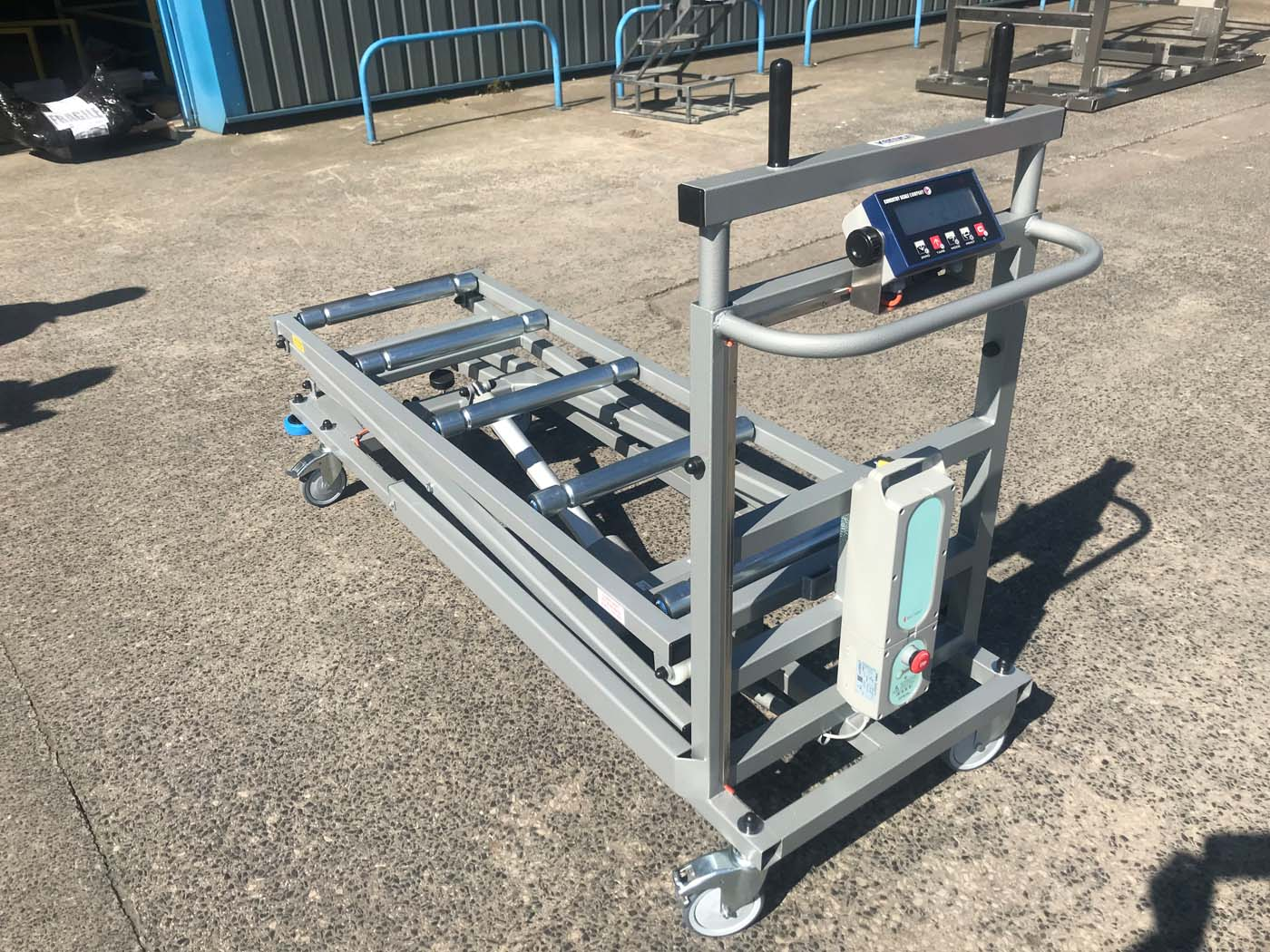 Kenyon HET style Trolley with Load Weighing Cell