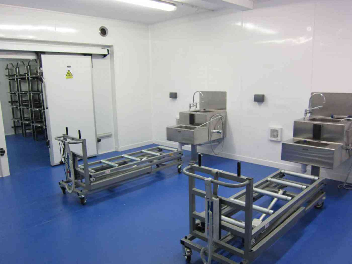 Stainless Steel Embalming Room Units Autopsy Equipment