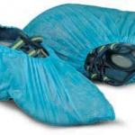 Disposable Blue Polyprophylene Overshoes