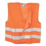 Orange High Visibility Waistcoat