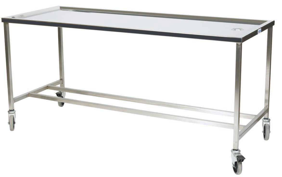 Washing table Autopsy Mortuary Post Mortem Funeral Equipment WJ Kenyon