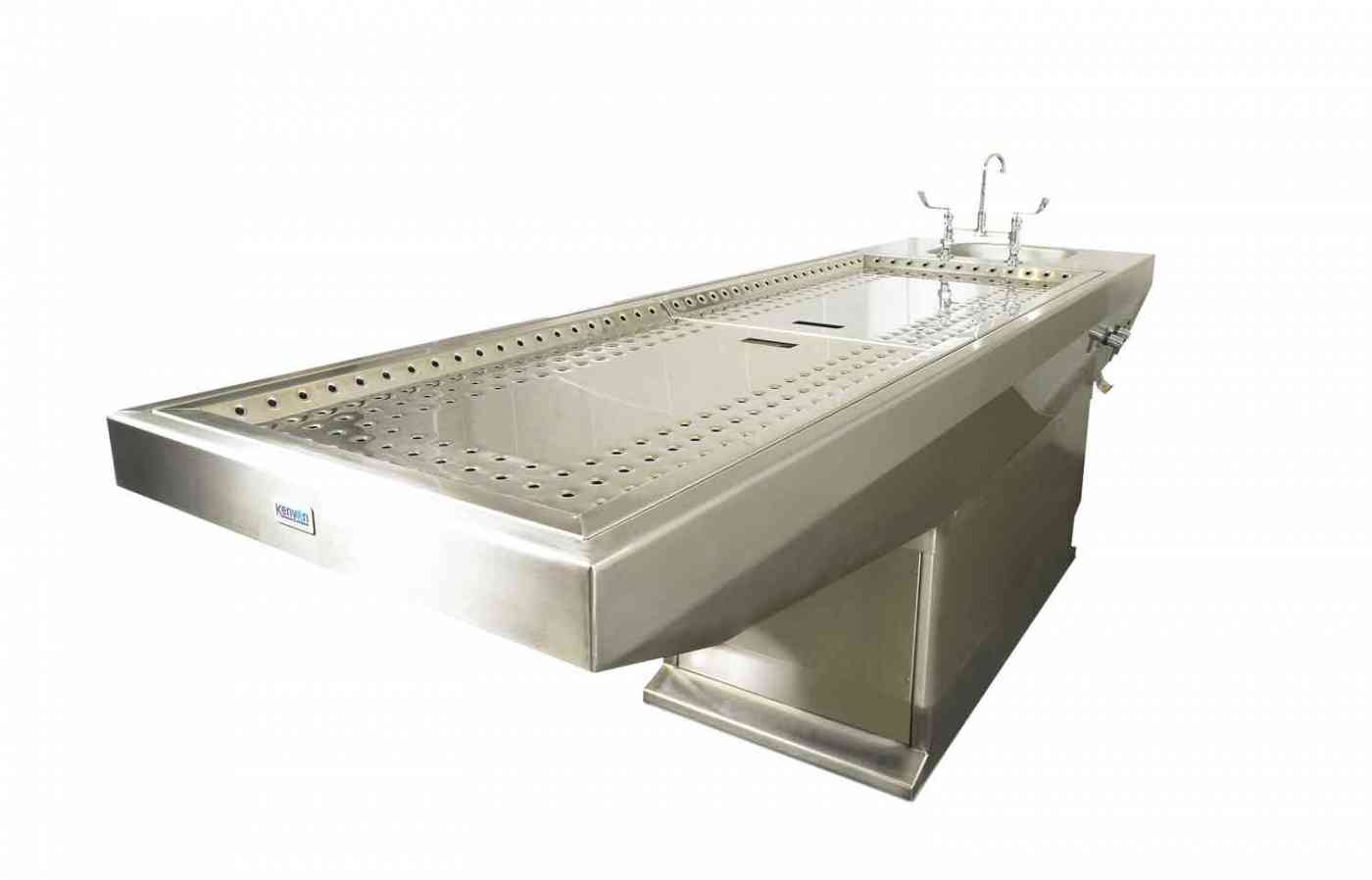 Autopsy Table with Extractor, Mortuary, Post Mortem, Funeral Equipment by WJ Kenyon