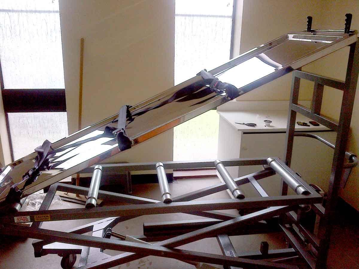 Tahara Table, Tahara wash facility, Jewish Mortuary Equipment