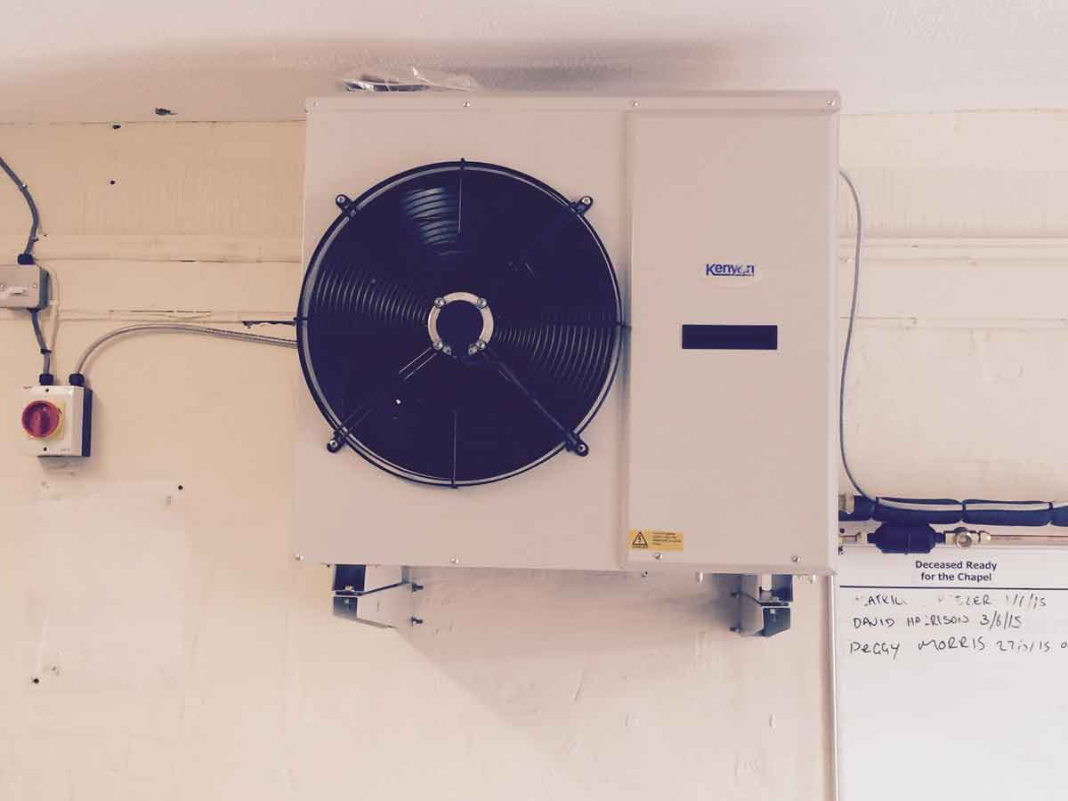 Bespoke cooling system Mortuary equipment