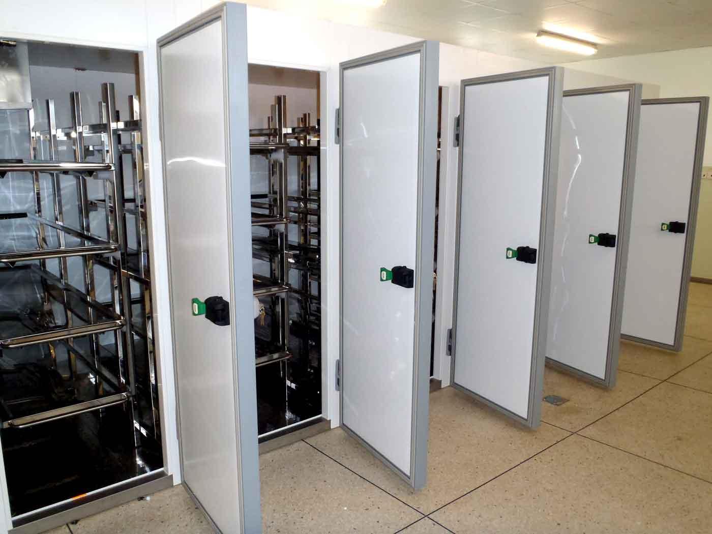 Hospital Mortuary cabinets