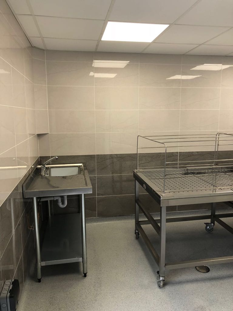 Kingston Central Mosque Autopsy Equipment Mortuary