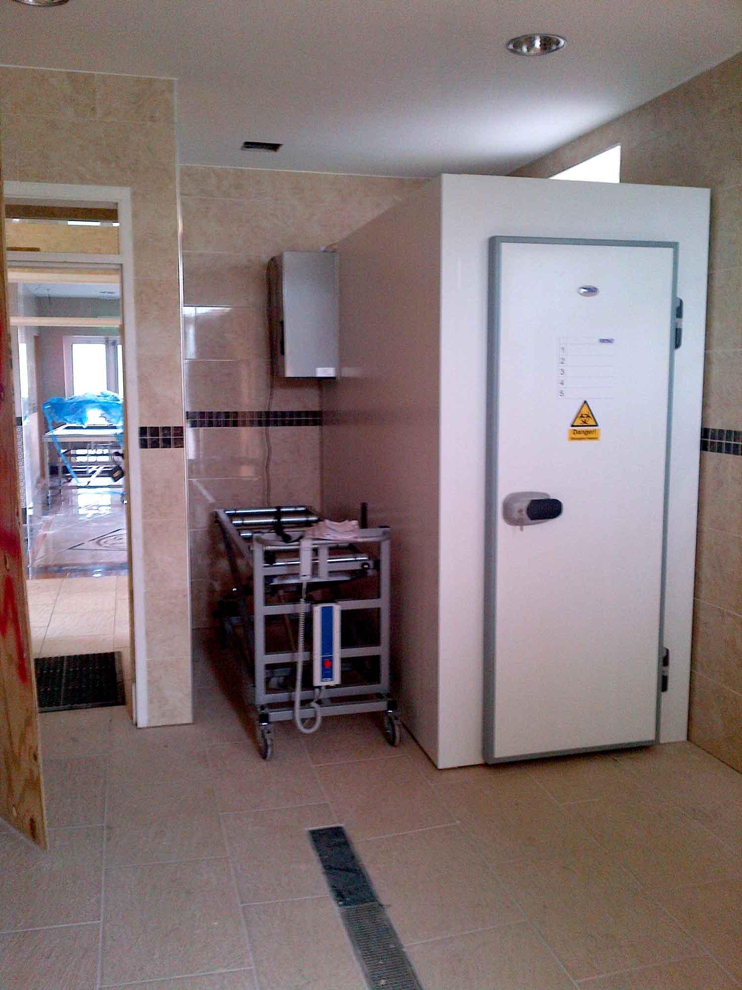 Oldham Mosque Ghusl equipment body chamber